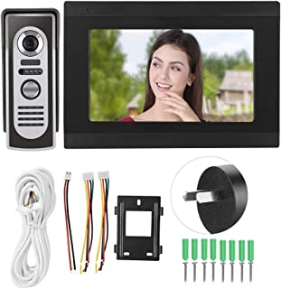 Video Doorbell, WiFi Visible IR Remote IR Doorbell, Public Buildings Home Security System for Offices Houses(Australian re...