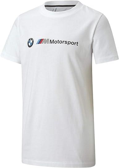 PUMA BMW MMS Kids Logo tee Camiseta Unisex niños