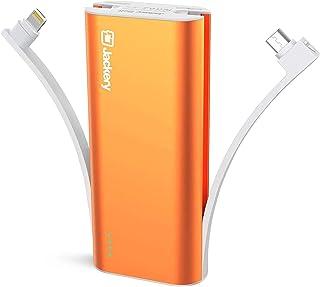 Jackery Bolt 6000mAh Cargador externo de batería, certificación Apple MFI, banco de energía ultracompacto, portátil, con ...