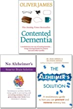 Contented Dementia, The Alzheimer's Solution and No Alzheimer's Smarter Brain Keto Solution 3 Books Collection Set