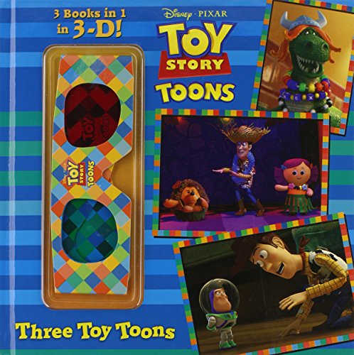 Three Toy Toons [With 3-D Glasses] (Disney/Pixar Toy Story)