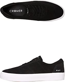 HUF Cromer 2 (Black) Men's Skate Shoes