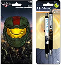 Halo Stickers Decals Set Water /& Tear Resistant Stickers for Laptop Specialty Door Hanger 8 Sheets Halo Party Supplies Trends International Backpacks Car
