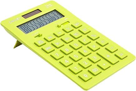 Solar Energy Dual Power Calculator Wissenschaftlicher Taschenrechner -Green : B�robedarf & Schreibwaren