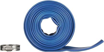 Blue Devil 25-Foot Backwash Hose for Pool with Hose Clamp, 1-1/2