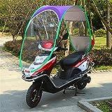 J&X Plegable Motocicleta Tabla Motor Bicicleta Sol Visera Sombra Tienda Paraguas Paraguas Moto Techo Techo Tapa de Lluvia