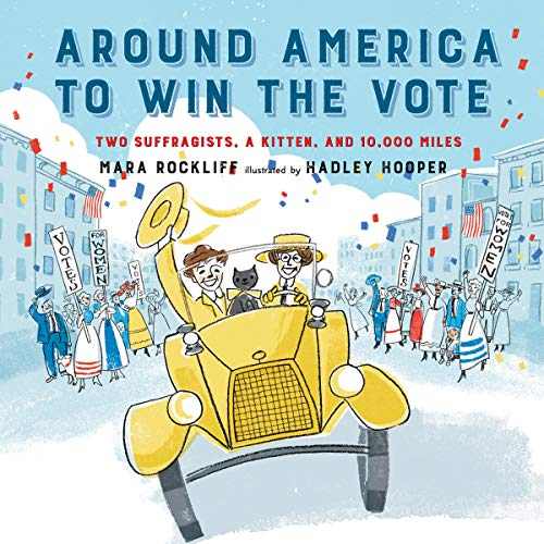 Around America to Win the Vote audiobook cover art