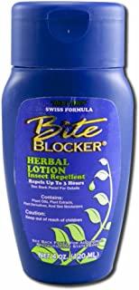 Bite Blocker Insect Repellent - Herbal Lotion Waterproof Repellent 4oz - Insect Repellent