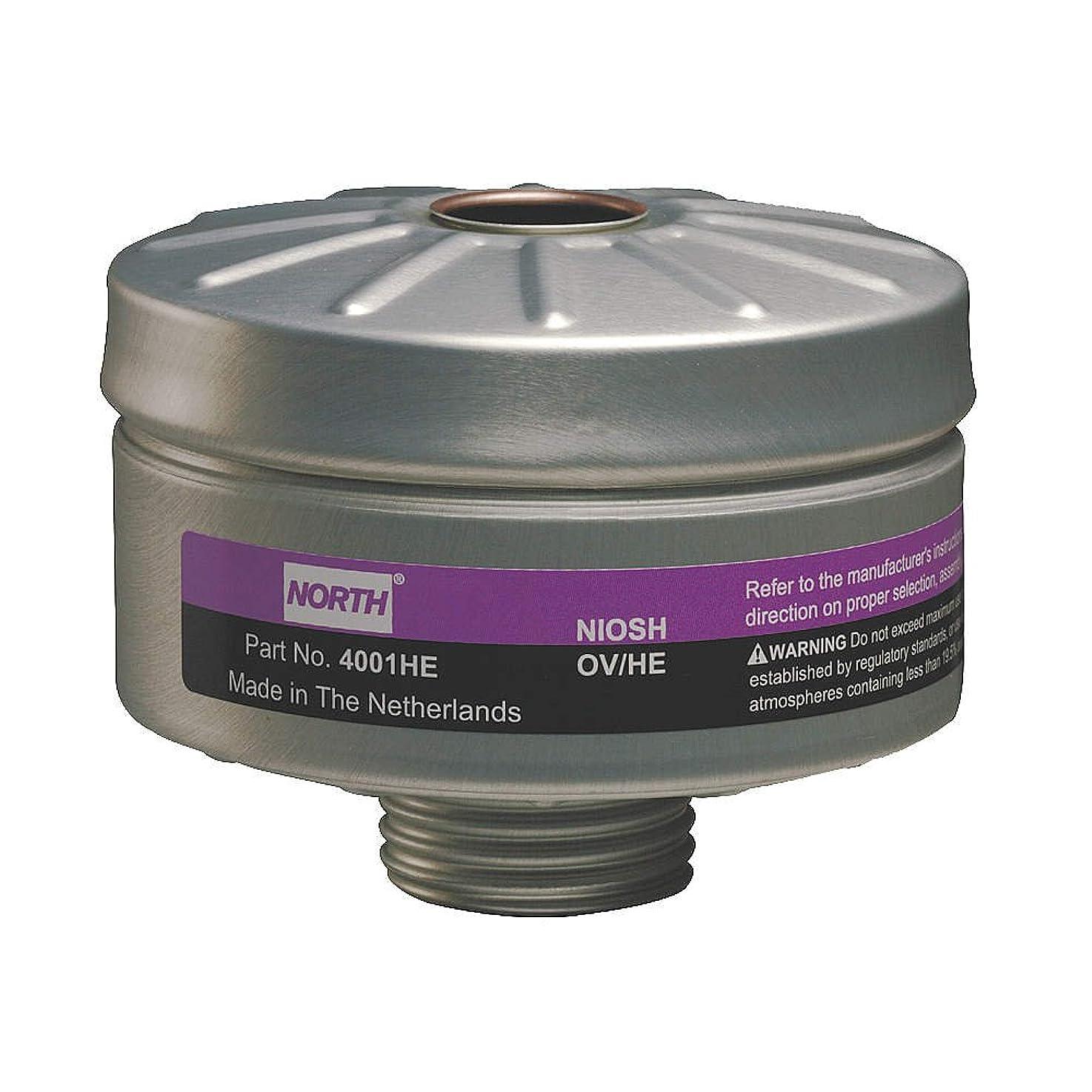 プランターアドバイス反乱Honeywell 4001HE Organic Vapor Cartridge with High Efficiency Particulate Air, Purifying (HEPA) Filter for Use by Honeywell