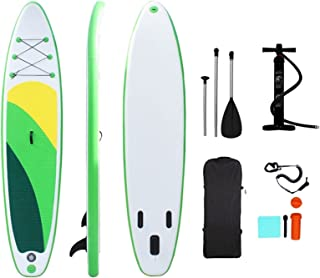 Inflatable Paddle Board Inflatable Stand up Paddle Board, Inflatable Surfboard 305 * 76 * 15cm Outdoor Wholesale Inflatabl...