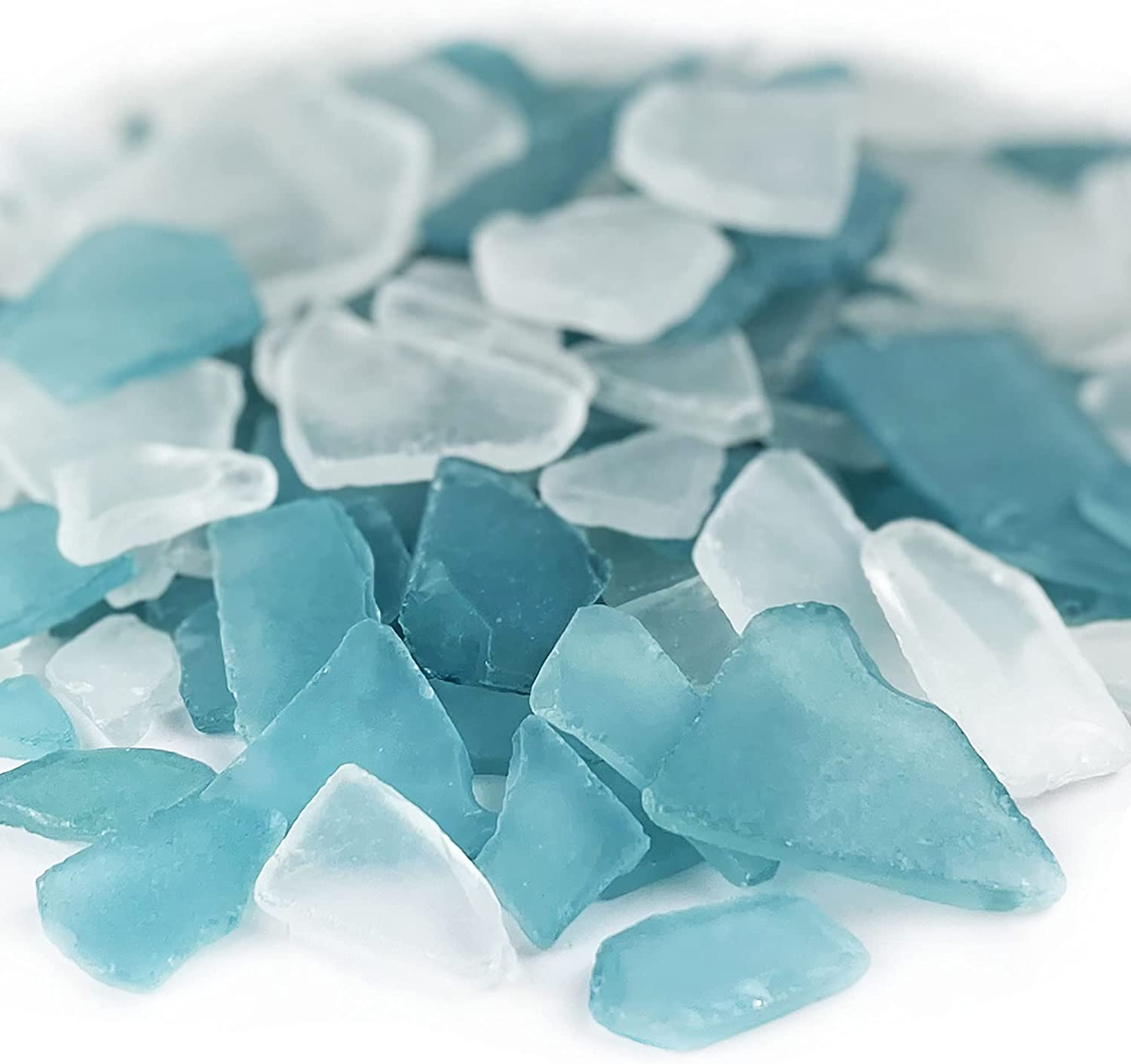 CYS Limited time for free Direct store shipping EXCEL Sea Glass 32 Ounces Multiple Light Mix Clear Blue