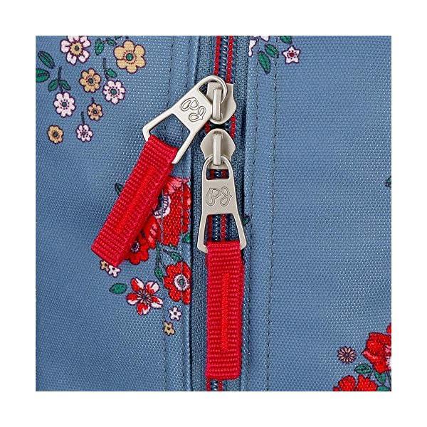 61bSmfNrrtL. SS600  - Mochila de Paseo Pepe Jeans 6382161 Pam, 32 cm, Multicolor