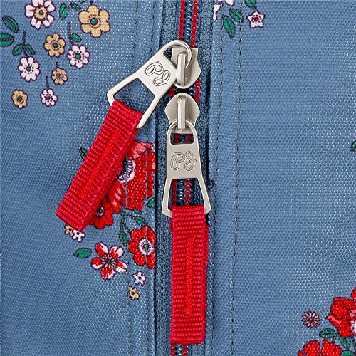 61bSmfNrrtL - Mochila de Paseo Pepe Jeans 6382161 Pam, 32 cm, Multicolor