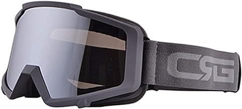 QSCTYG Motorbril, skibril, motorcross, racingbril, snowboardbril, kleurrijke glazen, UV-bescherming, motorbril 266