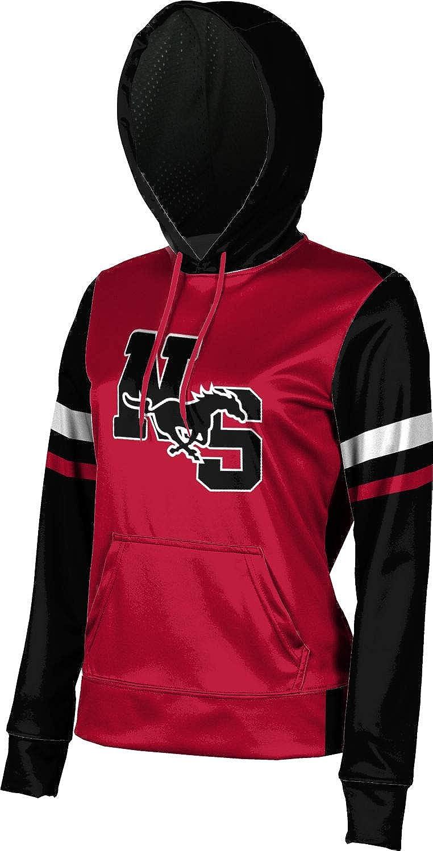 North Shore Senior High School Girls' Pullover Hoodie, School Spirit Sweatshirt (Old School)