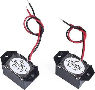 AOLUNO Low Voltage Buzzer 1.5V-3V VDC DC 70DB Mechanical Buzzer