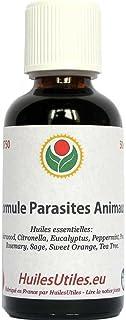 HuilesUtiles - La Formule Parasites Animaux - 50 ml