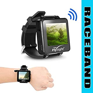 FPV Watch Monitor 5.8Ghz 40CH Raceband Flysight 2inch Video Display 960 x 240 TFT LCD Monitor Real-time Wireless Mini Drone Wearable Watch for RC Racing Drone DIY FPV Kit