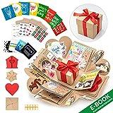 WONDER BOX Überraschungsbox - Kreative DIY Foto Geschenk Box - Explosionsbox Bilder Kiste - Das...