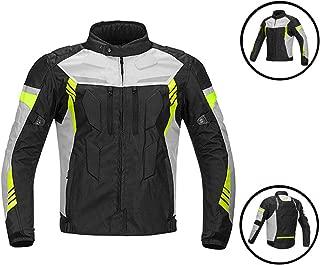 HBRT Motorcycle Jacket Armor Textile Motorbike Racing Suits Biker Riding Waterproof Breathable Keep Warm Wear Resistant All-Weather