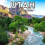 Utah Calendar 2021: 16-Month Calendar, Cute Gift Idea For Utah State Lovers Women & Men