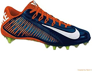 427f9ce4496e Nike Vapor Carbon Elite TD Football Cleats Shoes Blue Orange Mens Size 13 US
