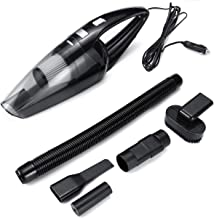 Semoic 1 Set 150W 7000PA Car Vacuum Cleaner Wet//Dry Portable Handheld Vacuum Cleaner with 4.5M Power Cord for Car Strong Power Suction