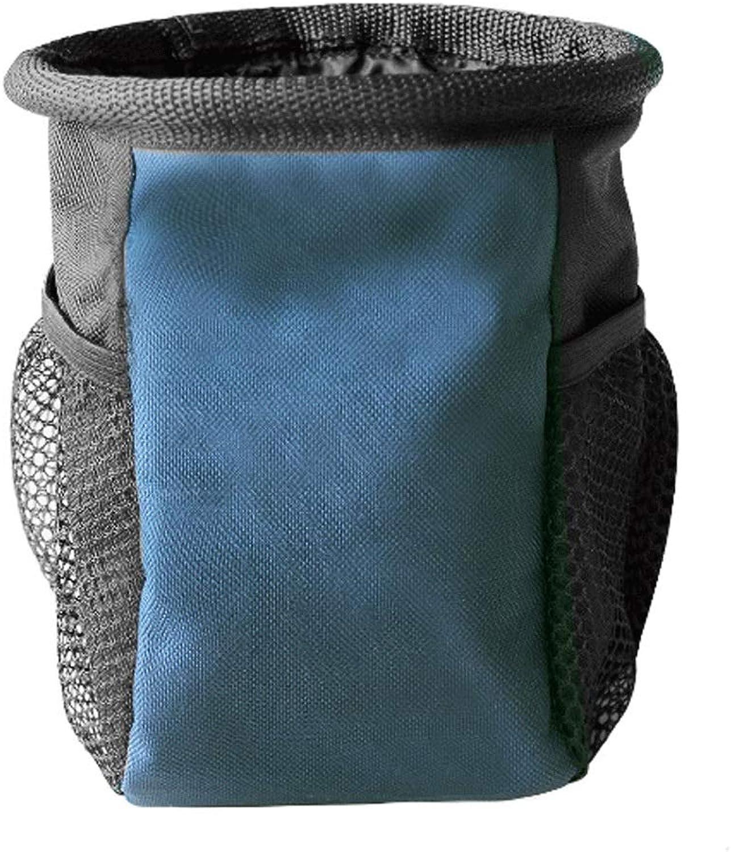 Adjustable Outdoor Pet Training Package Training Dog Bag Waist Bag Training Dog Supplies Snack Bag (color   Navy bluee, Size   M)