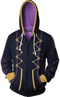 NSOKing Fire Emblem 3D Printed Awakening Heroes Robin Daraen Cosplay Hoodie Thin Jacket