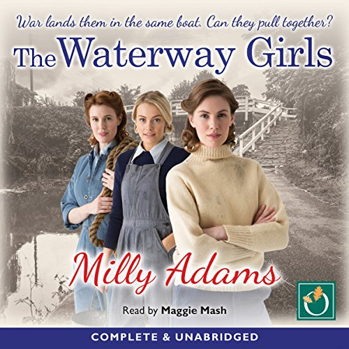The Waterway Girls audiobook cover art
