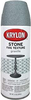Krylon Natural Stone Paint 12 oz. Granite