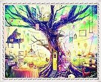 カラービーズ ストーン画 夢の樹屋 DIY FJ-62
