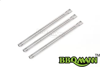 BBQMANN BG731(3-Pack) BBQ Pipe Tube Gas Grill Burner Replacement for Select Gas Grill Models by Amana, Surefire and Others (17 1/8