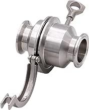 Best sanitary spring check valve Reviews