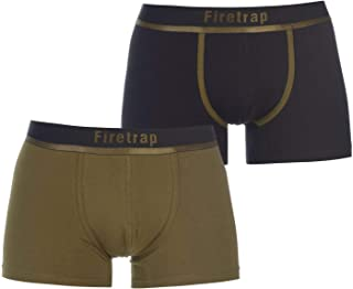 Firetrap Men 2 Pack Trunks Boxers Briefs