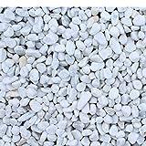 Marmorkies Carrara Weiss 25