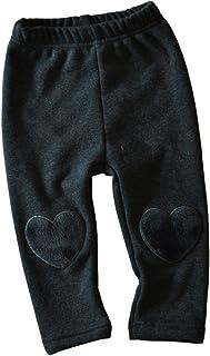 45b1d62b44d74 Taiycyxgan Baby Toddler Boys Girls Winter Warm Fleece Pants Heart Knee  Patch Leggings