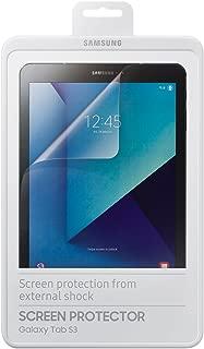 三星 ET-FT820CTEGWW 2X 屏幕保护膜ET-FT820 适用于Galaxy Tablet S3 透明