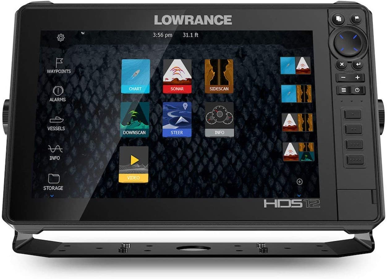 Lowrance HDS-12 Live with C-MAP Pro Chart - No Transducer (Renewed)