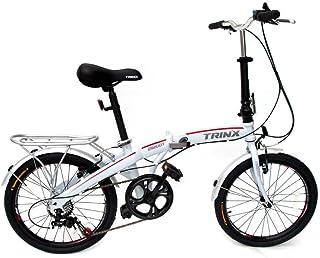 "Trinx Folding Bike 20"" Shimano 7 Speed Foldable Bicycle DS2007"