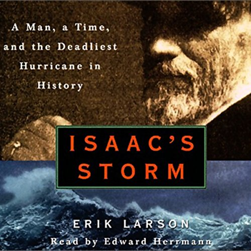 Isaac's Storm audiobook cover art