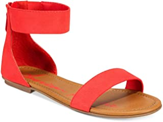 red rag sandals