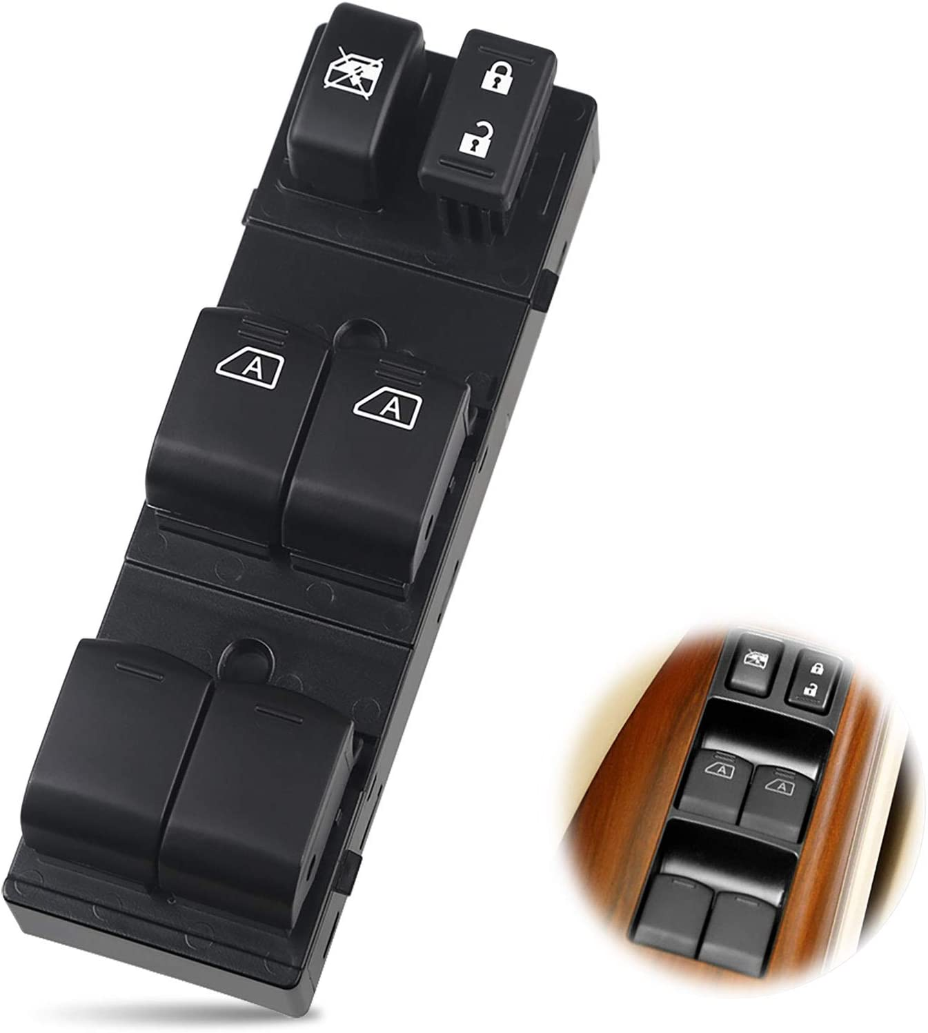 WMPHE Compatible with Window Switch Nissan Altima 4 Door 2007-20