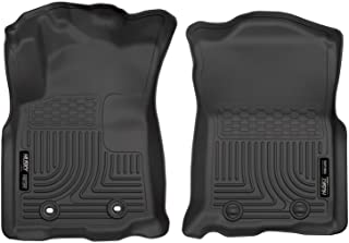 Husky Liners 13951 Fits 2016-17 Toyota Tacoma Double Cab/Access Cab - Automatic Transmission Weatherbeater Front Floor Mats , Black