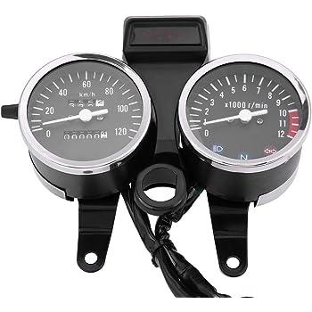 Tachimetro Digitale Contachilometri Retroilluminazione LED 12V Motociclo