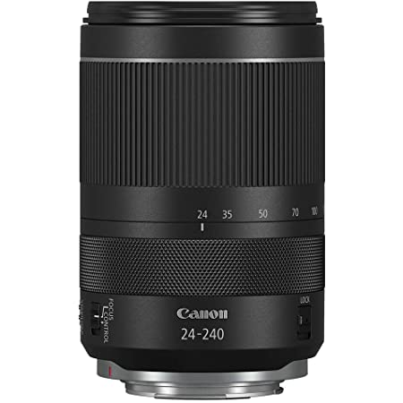 Canon RF 24–240mm F4-6.3 is USM Lens, Black