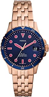 FOSSIL Stainless steel Wrist Watch For Women