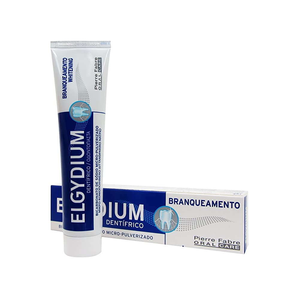 鳩地球洋服Elgydium Whitening Toothpaste 75ml [並行輸入品]