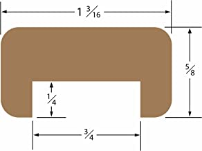 SeaTeak Straight Length Bulkhead Molding