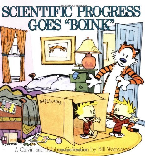Scientific Progress Goes 'Boink': A Calvin and Hobbes Collection by Bill Watterson (1991) Paperback